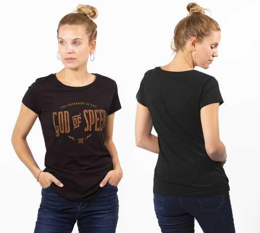 John Doe John Doe T-Shirt God Of Speed Damen  - 89-4616V