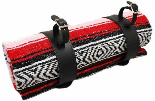 LaRosa LaRosa Mexican Serape Roll-up Tasche rot  - 89-5045