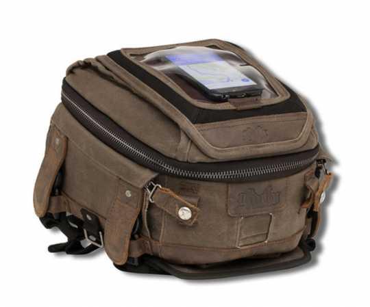 Burly Brand Burly Voyager Tank & Tail Bag Dark Oak  - 89-5084