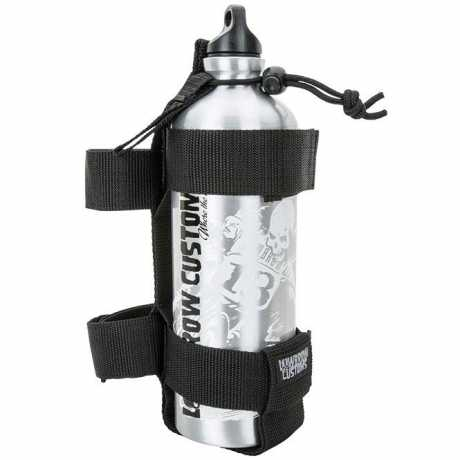 Lowbrow Customs Lowbrow Fuel Reserve Bottle Carrier, Ballistic Nylon  - 89-5134
