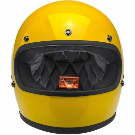 Biltwell Biltwell Gringo Helm Safe-T Yellow DOT  - 89-9636V
