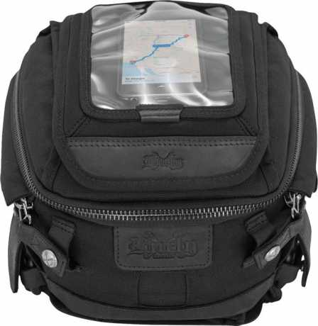 Burly Brand Burly Voyager Tank/Tail Bag Cordura Black  - 90-1357