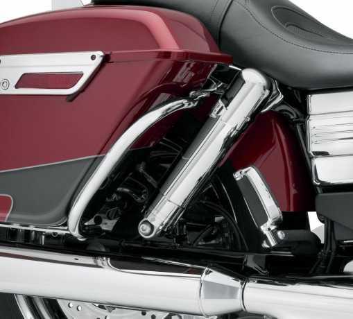 Harley-Davidson Hinterer Satteltaschen-Schutzbügel chrom  - 90201044