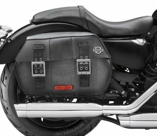 Harley-Davidson Satteltaschen Leder künstlich gealtert  - 90201306