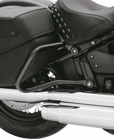 Harley-Davidson Saddlebag Guards - Black  - 90201315