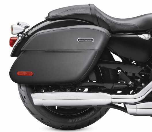 Harley-Davidson Abschließbare Leder-Seitenkoffer  - 90201321