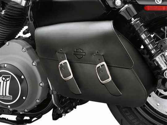 Harley-Davidson Einseitige Schwingentasche, schwarz  - 90201326A