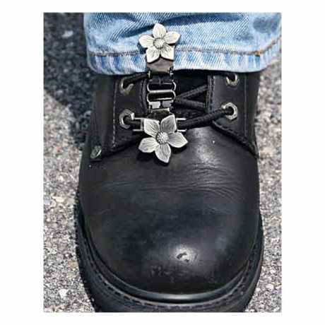 Ryder Clips Ryder Front Laced Boot Clips Flower  - 904303
