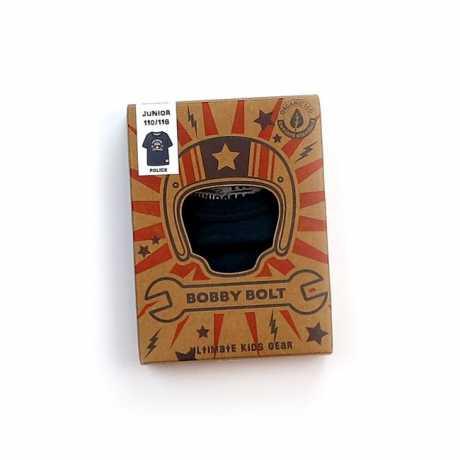 Bobby Bolt Bobby Bolt Police T-Shirt Navy blau  - 906133V