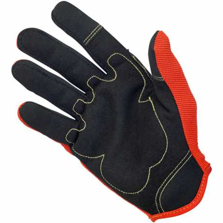 Biltwell Biltwell Moto Gloves Orange/Black/Yellow M - 567154
