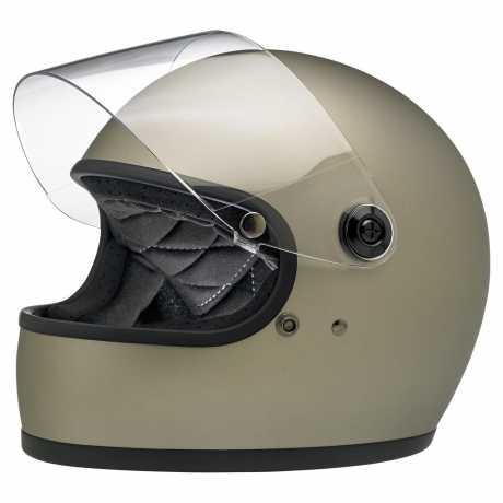 Biltwell Biltwell Gringo S Helm ECE Titanium matt  - 91-1996V