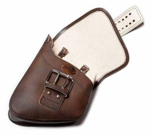 LaRosa LaRosa Solo Saddle Bag Rustic Brown Front Wide-Strap  - 91-2595