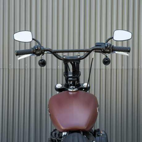 "Biltwell Biltwell Moto Bar Handlebar 4.25"" black  - 572223"