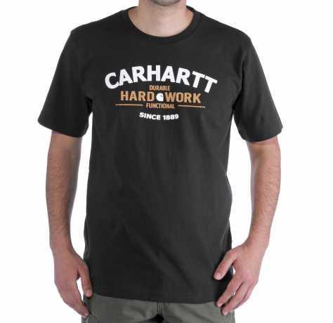 Carhartt Carhartt T-Shirt Hard Work schwarz  - 91-3511V