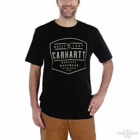 Carhartt Carhartt T-Shirt Workwear Built By Hand schwarz  - 91-5048V