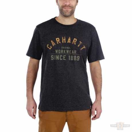 Carhartt Carhartt T-Shirt Workwear Carbon Heather  - 91-5066V