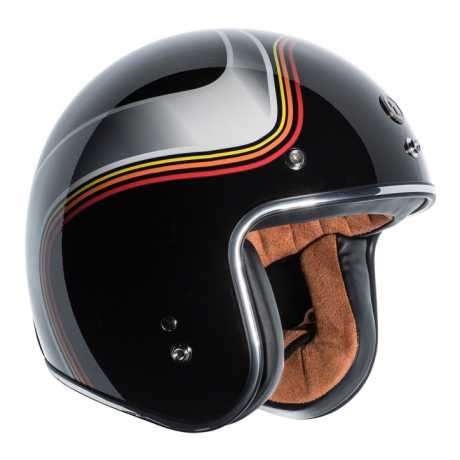 Torc Helmets Torc T-50 Jethelm Luminous ECE schwarz  - 91-7906V