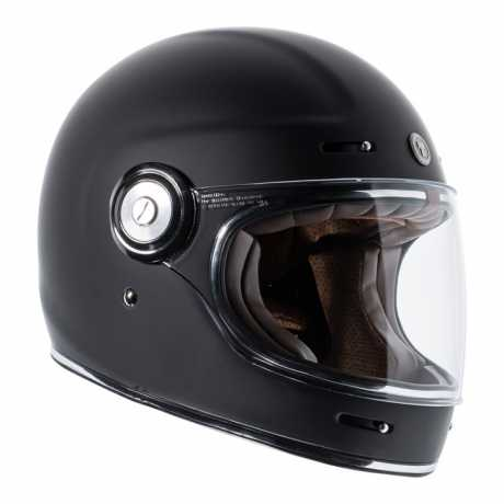 Torc Helmets Torc T-1 Retro Full Face Helmet Flat Black ECE XL - 91-6138