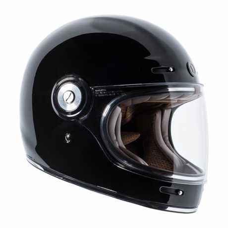 Torc Helmets Torc T-1 Retro Integralhelm schwarz ECE  - 91-6140V