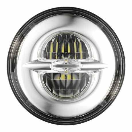 "JW Speaker JW Speaker 8720 LED Reflector Headlight 7"" chrome  - 91-6545"