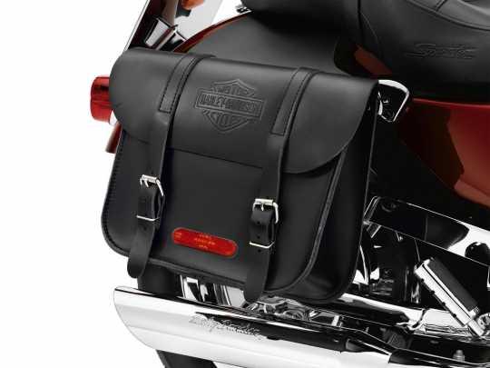 Harley-Davidson Leather Throw-Over Saddlebags  - 91008-82C