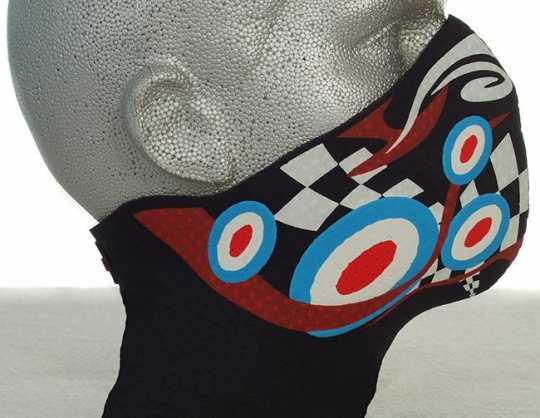 Bandero Bandero Half Face Mask Psychedelic Longneck  - 910730