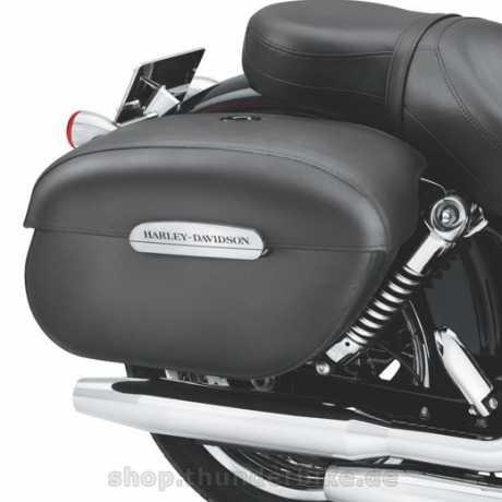Harley-Davidson Verschließbare Leder-Seitenkoffer  - 91615-09A