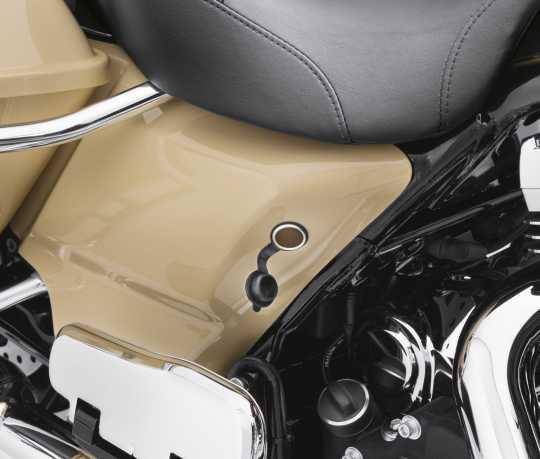 Harley-Davidson Supplemental 12v Power Port  - 91843-97