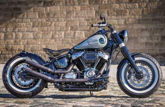 Thunderbike Anbausatz Street Devil mit Auspuffhöherlegung 20° schwarz  - 92-74-010