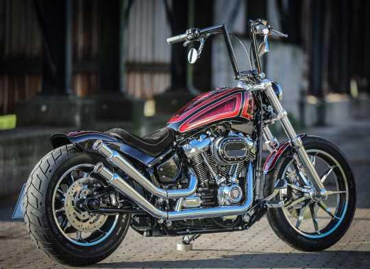 Thunderbike Anbausatz Street Devil mit Auspuffhöherlegung 20° poliert  - 92-74-015