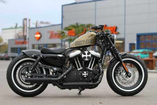 Thunderbike Tapered Street Devil black - 92-75-017