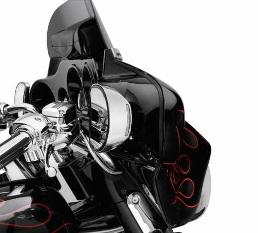 Harley-Davidson Illuminated Mirror Covers chrome  - 92600-10