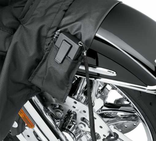 Harley-Davidson Motorradplane für Innen & Außen, schwarz  - 93100025