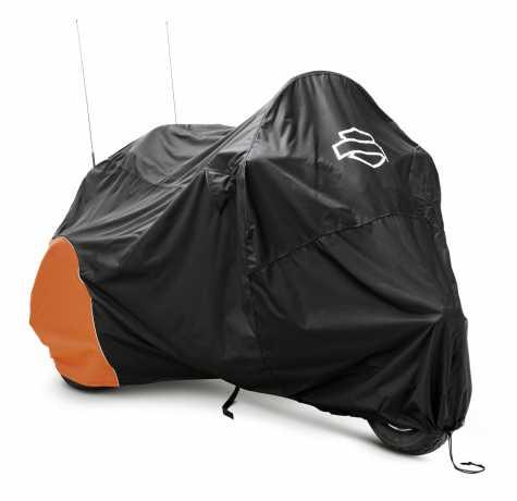 Harley-Davidson Motorcycle Cover Indoor & Outdoor, orange & black  - 93100024