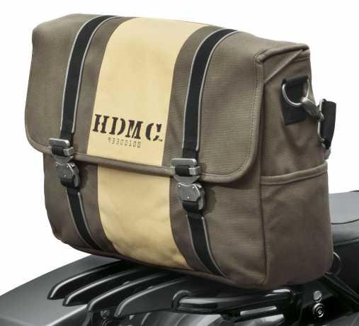 Harley-Davidson HDMC Kuriertasche Braun/Beige  - 93300100