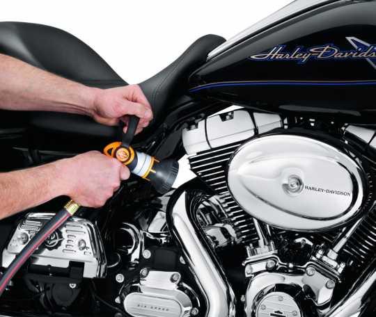 Harley-Davidson Schlauchdüse in Feuerwehroptik  - 93600016
