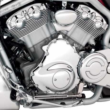 Harley-Davidson Chromschrauben für Abdeckungen von Lichtmaschine & Vorderem Ritzel  - 94001-03
