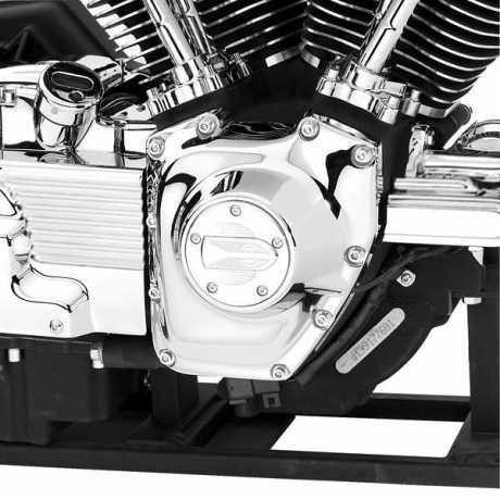 Harley-Davidson Schrauben Kit Nockenwellenabdeckung chrom  - 94058-03
