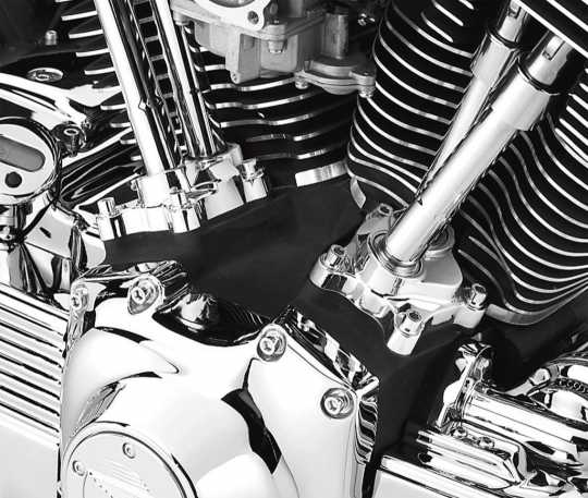 Harley-Davidson Schrauben Kit Stößelblock, chrom  - 94068-03