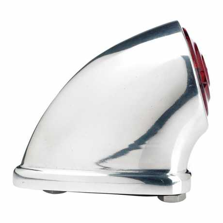 Biltwell Biltwell LED Mako Taillight Polished  - 942769