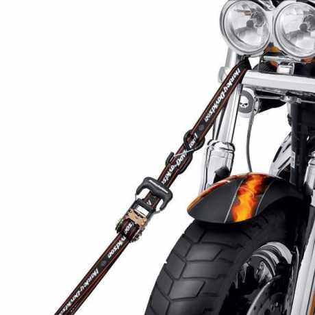 """Harley-Davidson Ratschenspanngurte 1.25"""" mit integrierten Schlaufen  - 94704-10"""