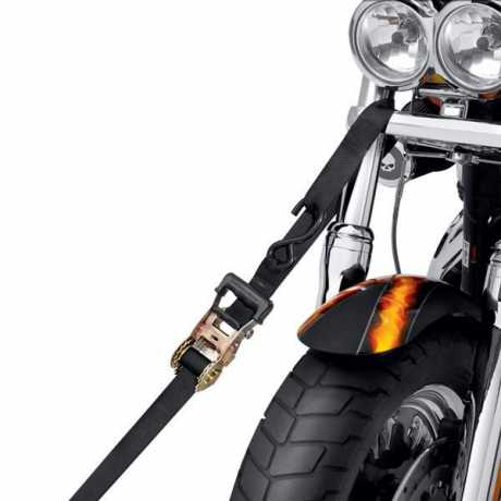 "Harley-Davidson Gradual Release Ratchet Tie-Down Straps 1.5"" x 66""  - 94706-10"
