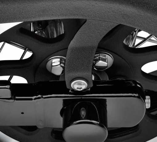 Harley-Davidson Schrauben-Kit für hinteres Riemenritzel sechskant, chrom  - 94708-98