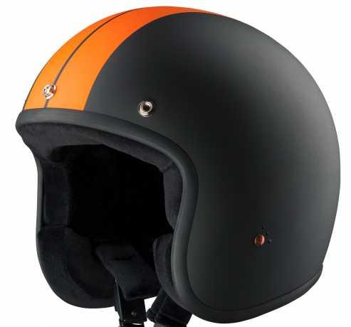 Bandit Bandit Jet Helmet Race black & orange matt ECE L (59) - 947293