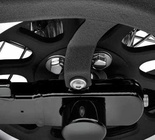 Harley-Davidson Hardware Kit for Rear Belt Sprocket, Hex Head, chrome  - 94773-07