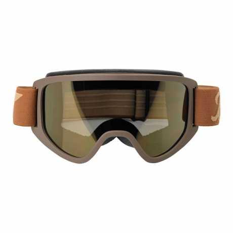 Biltwell Biltwell Moto 2.0 Goggle Lens Gold Gold Mirror  - 956181