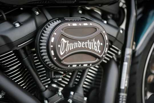 Thunderbike Airbox Cover Oval Torque TB-Logo  - 96-74-080