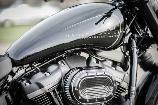 Thunderbike EFI-Cover black wrinkle  - 96-77-170
