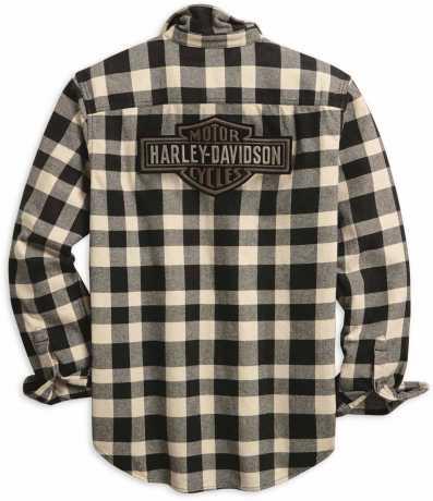 H-D Motorclothes Harley-Davidson Shirt Buffalo Check black/white  - 96010-20VM