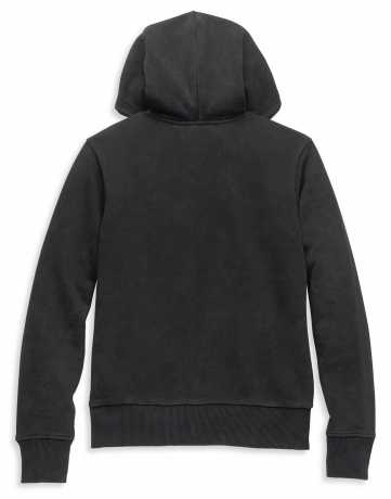 H-D Motorclothes Harley-Davidson women´s Zip Hoodie Font Embroidered black  - 96086-22VW